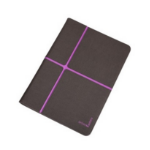 Urban Factory 10-Inch Tablet Collins Folio Cover Case - Black/Pruple - (FCC10UF)