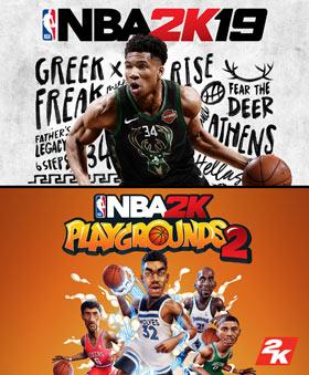 Nexway NBA 2K19 + NBA 2K Playgrounds 2, Bundle vídeo juego PC/Mac Español