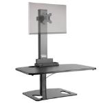 Ergotech Group Freedom Stand - Single Black computer desk