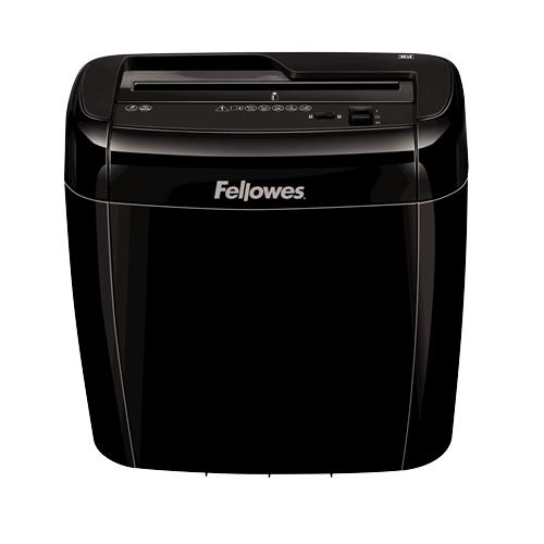 Fellowes Powershred 36C paper shredder Cross shredding Black