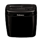 Fellowes Powershred 36C paper shredder Cross shredding Black