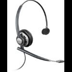 Plantronics ENCOREPRO HW710D headset Monaural Head-band Black, Silver