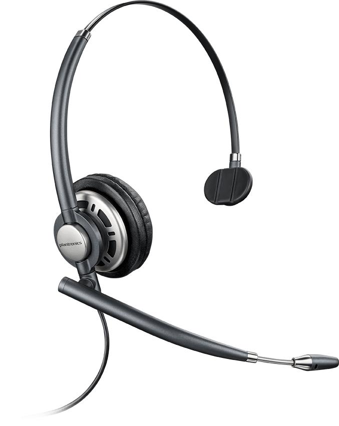 POLY ENCOREPRO HW710D Headset Head-band Black,Silver