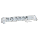 C2G 80799 6AC outlet(s) 230V 1.5m Grey,White surge protector