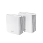 ASUS ZenWiFi AC wireless router Gigabit Ethernet Tri-band (2.4 GHz / 5 GHz / 5 GHz) White