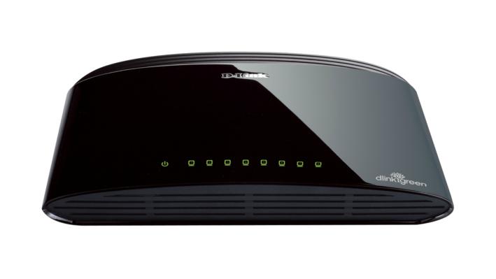 D-Link DES-1008D No administrado Fast Ethernet (10/100) Negro