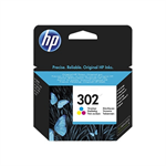HP F6U65AE (302) Ink cartridge color, 165 pages, 4ml