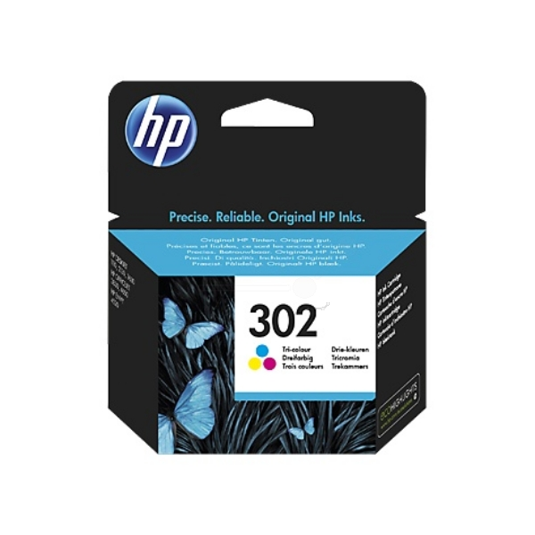 HP F6U65AE (302) Printhead color, 165 pages, 4ml