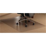 Floortex Polycarbonate chair mat, 48 x 60, clear desk pad