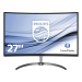 Philips E Line Monitor LCD curvo con Ultra Wide-Color 278E8QJAB/00
