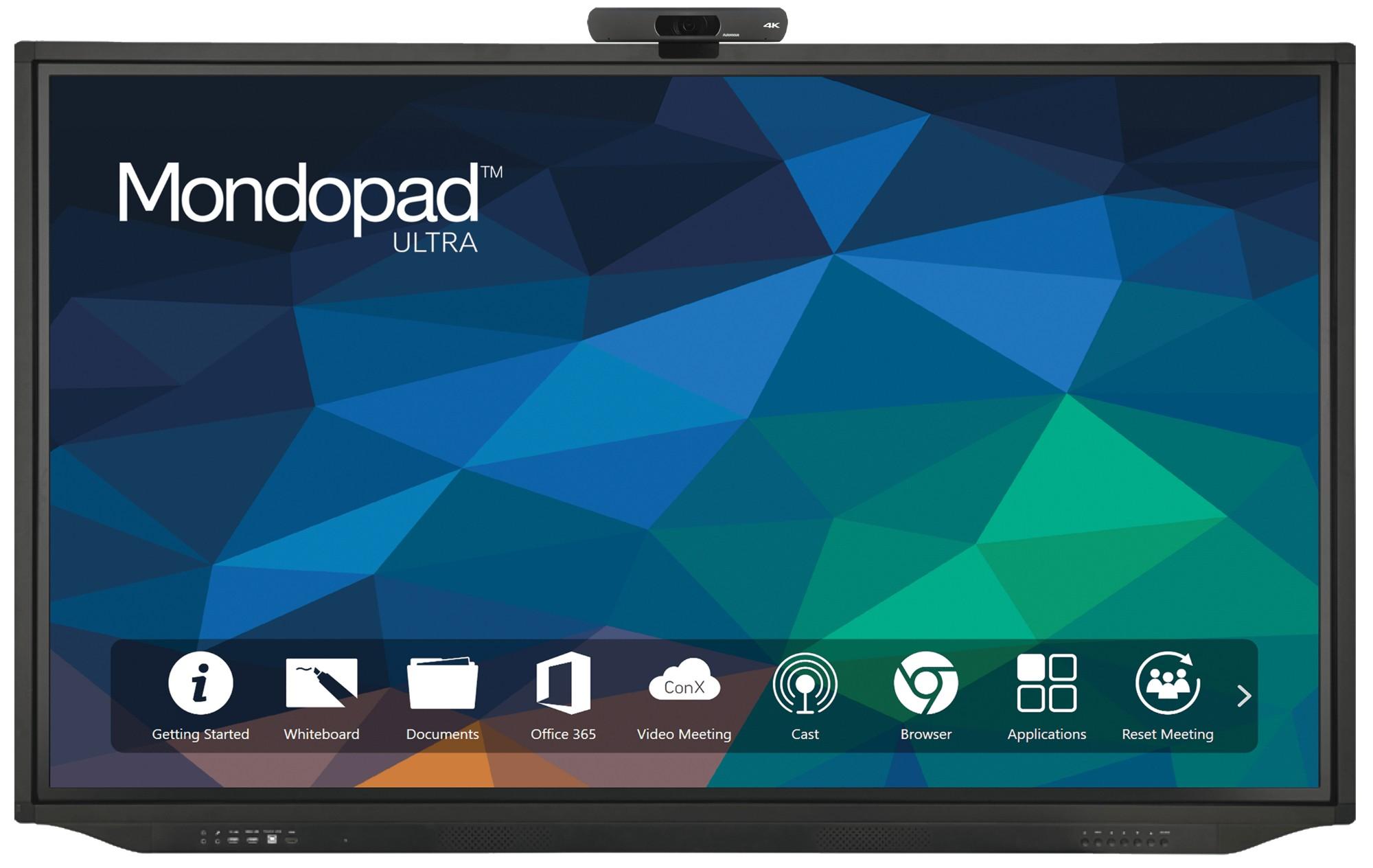 Mondopad Ultra 75in - 4K UHD Touch - i7 7500U - 8GB Ram - 256GB SSD - Win10 Pro / Android (v5.0)
