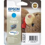 Epson C13T06124010 (T0612) Ink cartridge cyan, 250 pages @ 5% coverage, 8ml