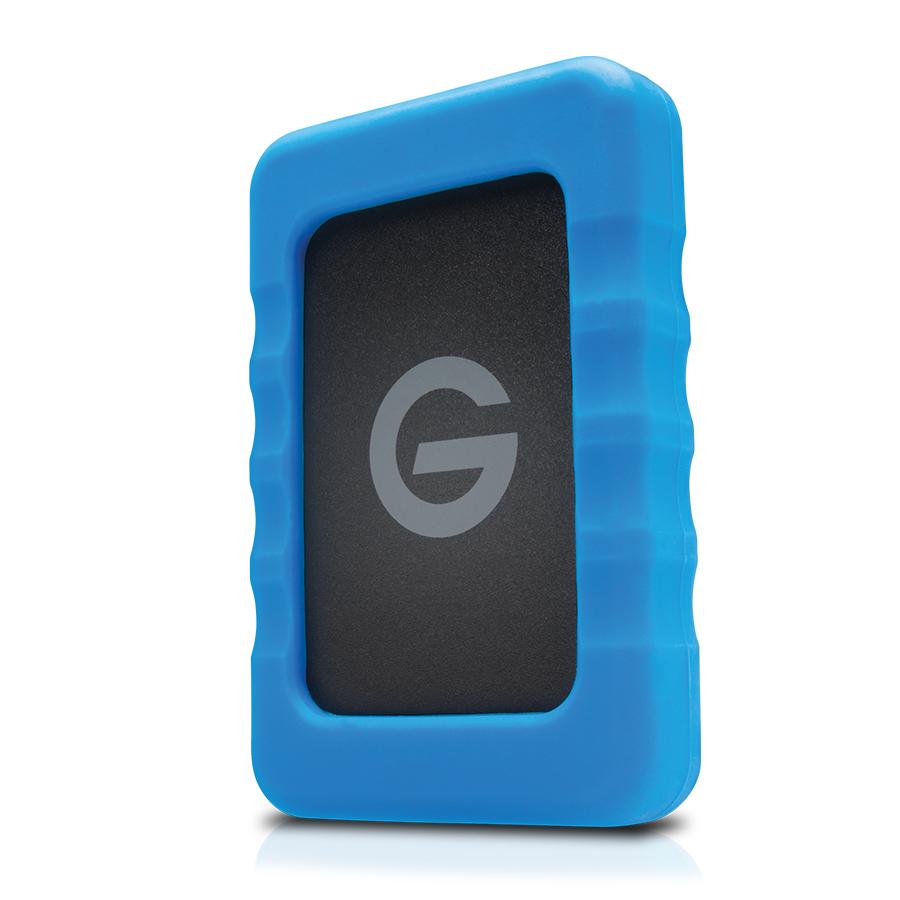 G-Technology G-DRIVE ev RaW disco duro externo 4000 GB Negro, Azul