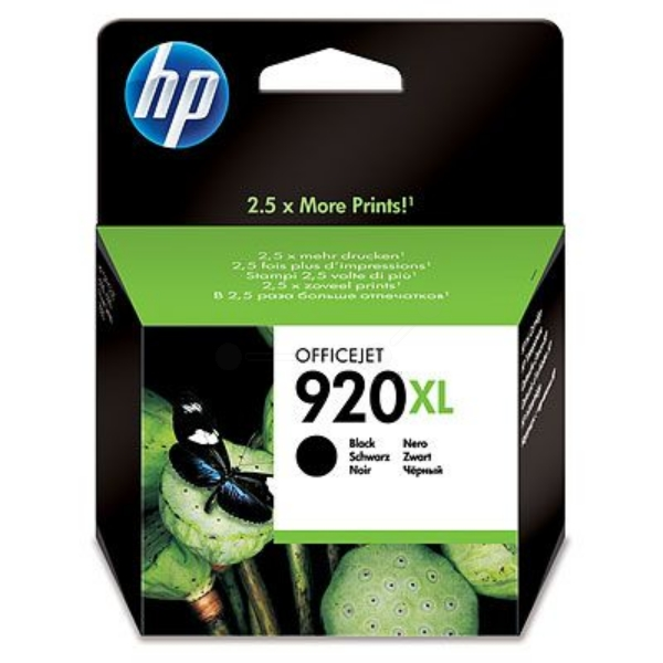 HP CD975AE#301 (920XL) Ink cartridge black, 1.2K pages, 32ml