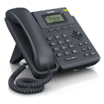 Yealink SIP-T19P IP phone Black Wired handset LCD 3 lines