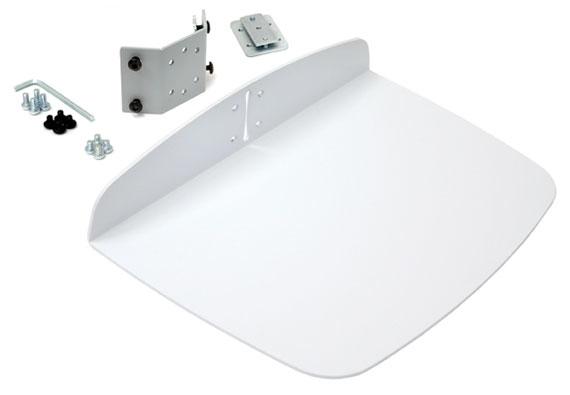 Utility Shelf For Ergotron Carts (white)