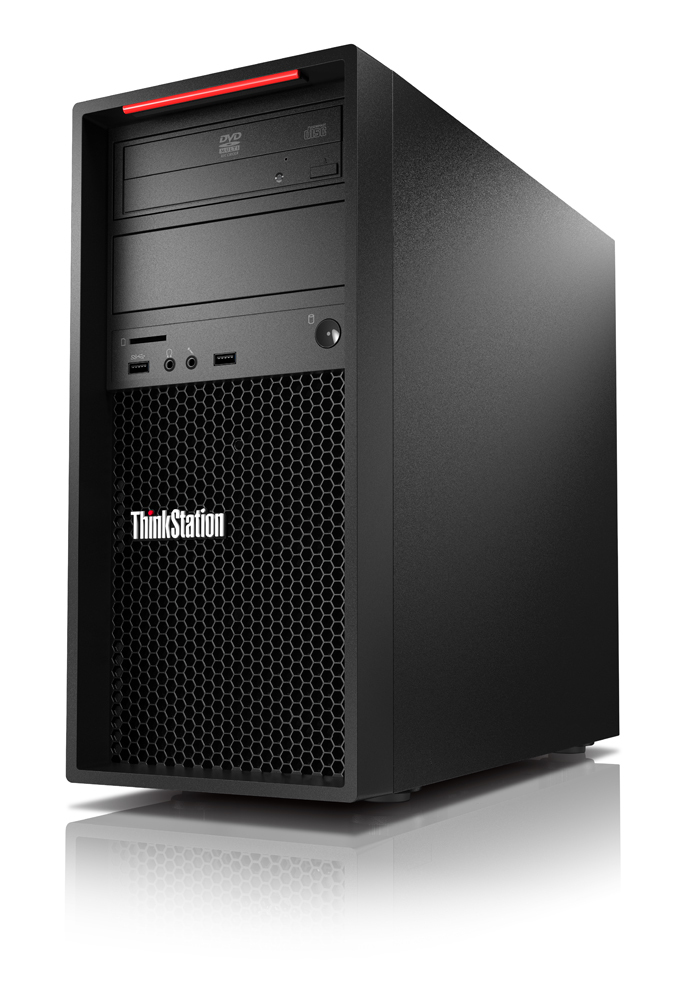 Lenovo ThinkStation P520c Intel Xeon W W-2104 16 GB DDR4-SDRAM 256 GB SSD Black Tower Workstation
