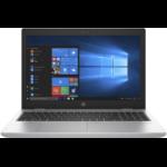 """HP ProBook 650 G4 Notebook Silver 39.6 cm (15.6"""") 1920 x 1080 pixels 8th gen Intel® Core™ i5 8 GB DDR4-SDRAM 256 GB SSD Wi-Fi 5 (802.11ac) Windows 10 Pro"""