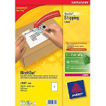 Avery BlockOut Shipping Labels self-adhesive label White 500 pc(s)
