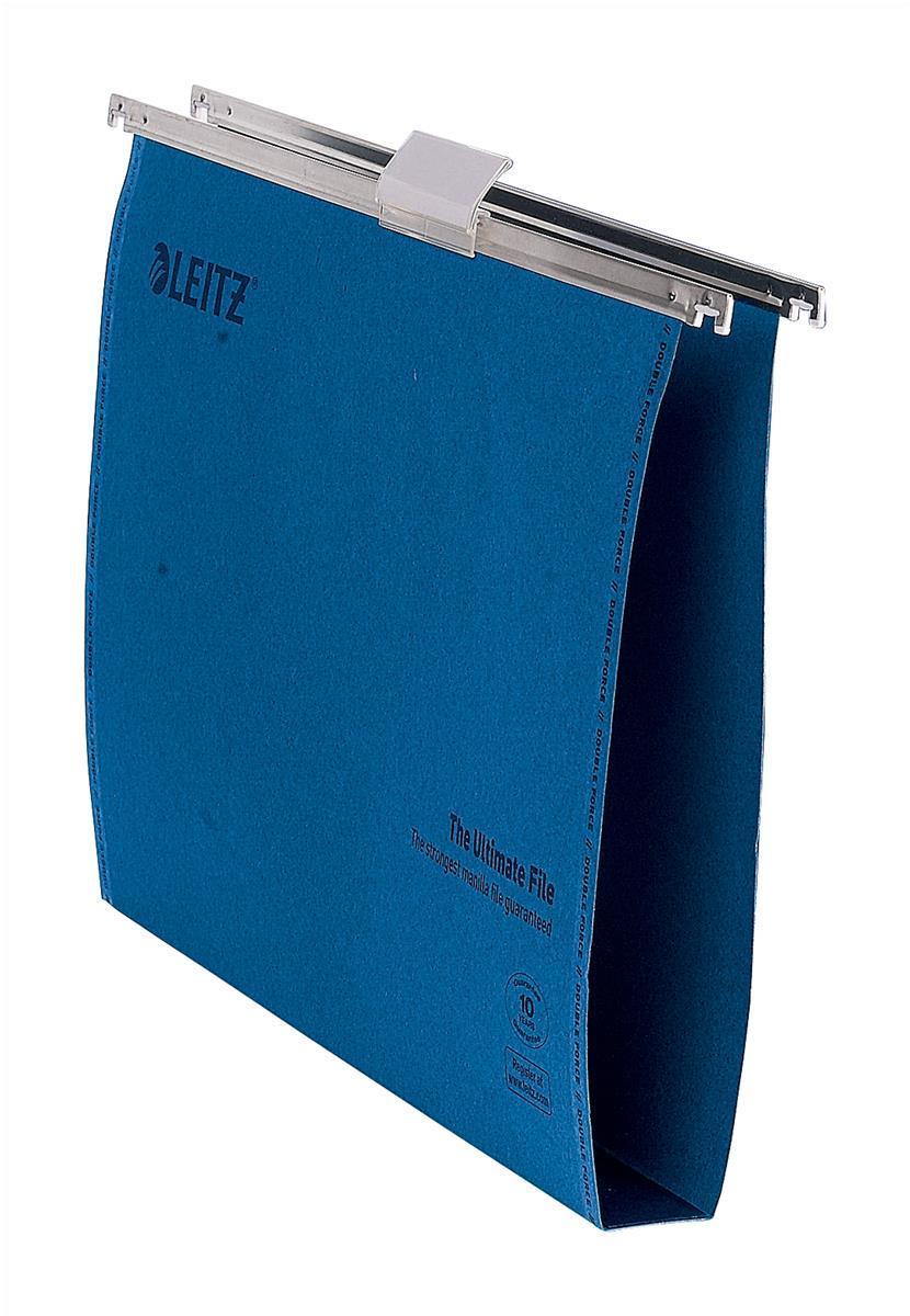 Leitz Ultimate Suspension File Foolscap Blue 17450035 (PK50)