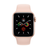 Apple Watch Series 5 smartwatch Gold OLED Cellular GPS (satellite)