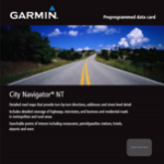 Garmin 010-11037-00 navigation software