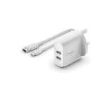 Belkin WCE001MY1MWH mobile device charger Indoor White