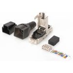 Microconnect KON524TL wire connector RJ-45 Black