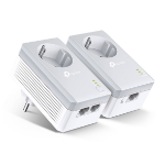 TP-LINK AV600 2-port Passthrough Powerline Starter Kit