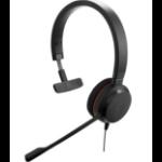 Jabra Evolve 20 UC Mono USB-C Headset Head-band Black