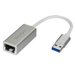 StarTech.com USB 3.0 to Gigabit Network Adapter - Silver