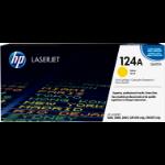 HP 124A Origineel Geel 1 stuk(s)