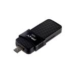 PNY P-FD16GOTGSLMB-GE USB flash drive 16 GB USB Type-A / Micro-USB 3.0 (3.1 Gen 1) Zwart