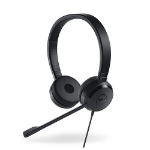DELL UC350 Head-band Binaural Wired Black mobile headset