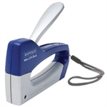 Rapesco Mini Z T-Duo Staple Tacker Blue,Grey stapler