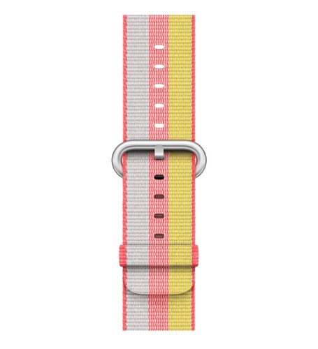 Apple 42mm Red Woven Nylon