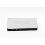 Origin Storage Origin alt Dock to DELL Dock WD15 130W Black Docking USB 3.0 (3.1 Gen 1) Type-C Black,Silver