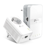 TP-LINK TL-WPA7617 KIT PowerLine-netwerkadapter 1200 Mbit/s Ethernet LAN Wi-Fi Wit