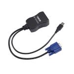 Black Box DCX-VGA cable gender changer RJ-45 VGA, USB A