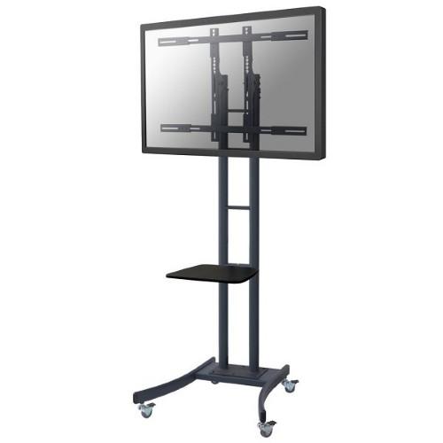 "Newstar Mobile TV Floor Stand for 37-85"" screen, Height Adjustable - Black"