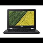 "Acer Chromebook Spin 11 R751TN-C5P3 11.6"" 1366 x 768 pixels Touchscreen Intel® Celeron® 4 GB LPDDR4-SDRAM 32 GB Flash Wi-Fi 5 (802.11ac) Chrome OS Black"