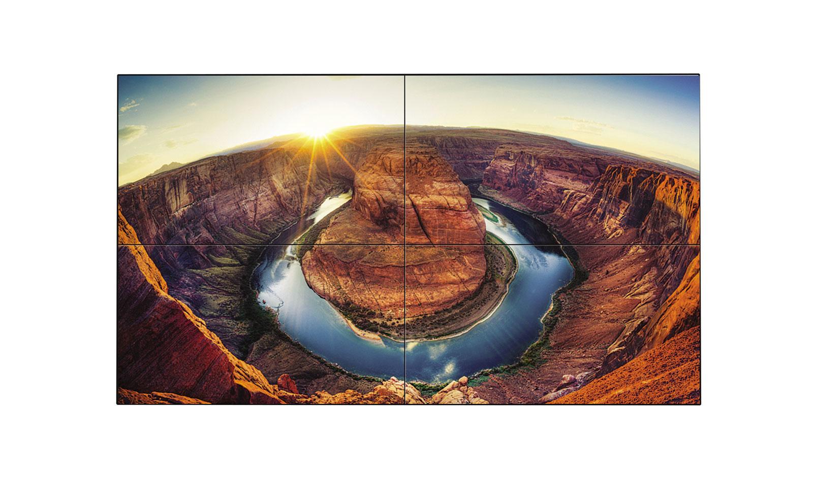 "LG 55VM5B signage display 139.7 cm (55"") Full HD Digital signage flat panel Black"