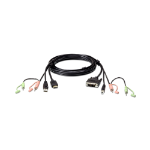 Aten 2L-7D02DH HDMI DVI-D Black cable interface/gender adapter