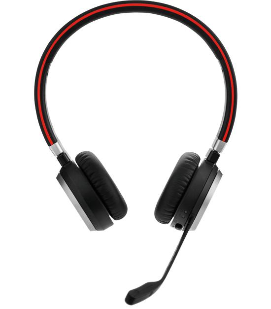 Jabra EVOLVE 65 UC Stereo Binaural Head-band Black
