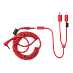 Urbanears 04091362 audio cable RCA 3.5mm Red
