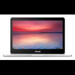 "ASUS Chromebook Flip C302CA-GU010 Grey 31.8 cm (12.5"") 1920 x 1080 pixels Touchscreen Intel® Core™ M 4 GB 64 GB Flash Wi-Fi 5 (802.11ac) Chrome OS"