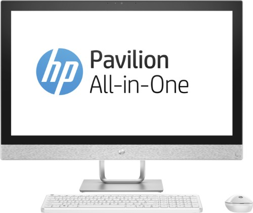 """HP Pavilion 27-r079na 2.4GHz i5-7400T 7th gen Intel® Core™ i5 27"""" 1920 x 1080pixels White All-in-One PC"""