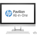 "HP Pavilion 27-r079na 2.4GHz i5-7400T 7th gen Intel® Core™ i5 27"" 1920 x 1080pixels White All-in-One PC"