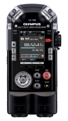 Olympus LS-100 Internal memory & flash card Black dictaphone