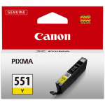 Canon 6511B001 (CLI-551 Y) Ink cartridge yellow, 344 pages, 7ml